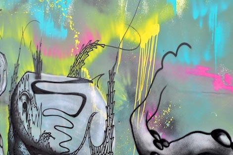 boswell close-up graffiti