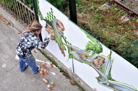 zase painting by vauxhall bridge