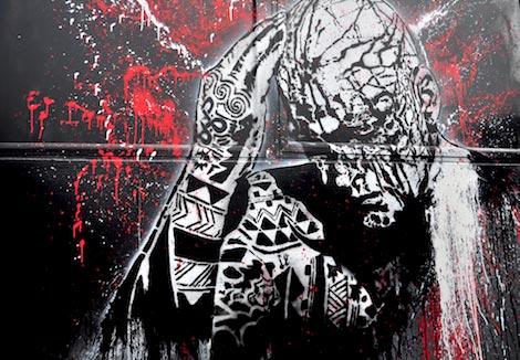 grain barge graffiti