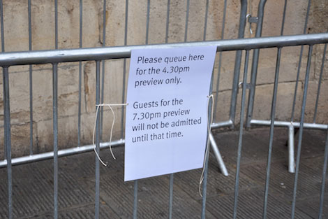 Banksy show preview notice