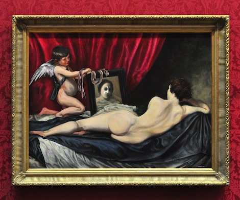 Plastic surgery painting Banksy