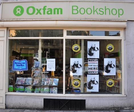 Oxfam Banksy merchandise