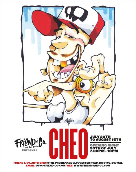 Cheo show at Friends & Co gallery