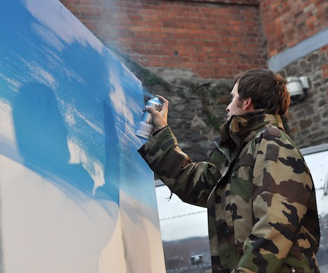 Xenz painting at Paintworks
