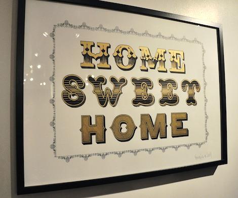 Ben Eine Home Sweet Home