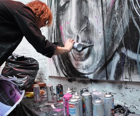 David Walker painting