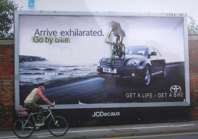 Get a live, get a bike.
