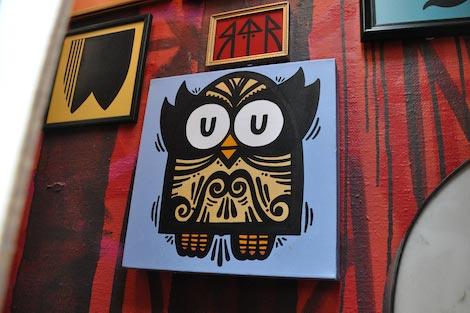 45RPM owl piece