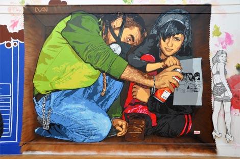 Mural piece by dan